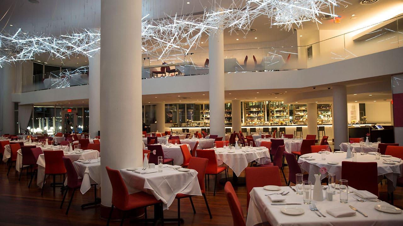 interior sequoia restaurant dining room